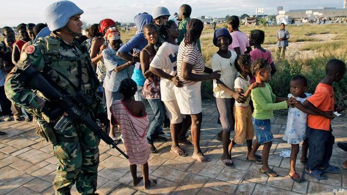Миротворцы ООН на Гаити