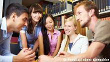Studentisches Leben in Deutschland Gruppenarbeit Studenten