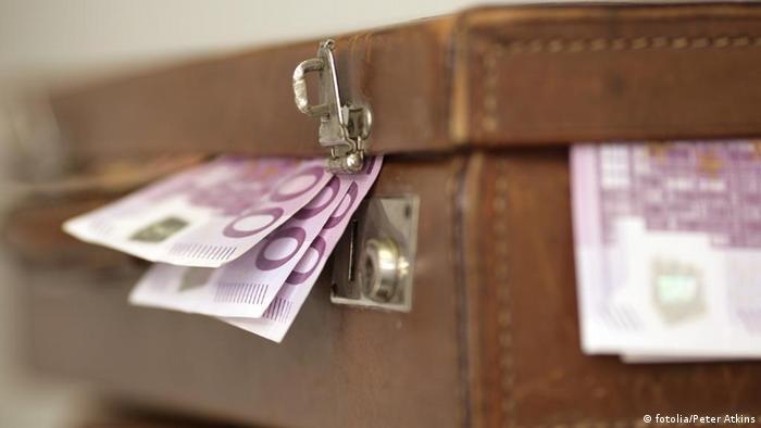 Koffer Geld Geldkoffer