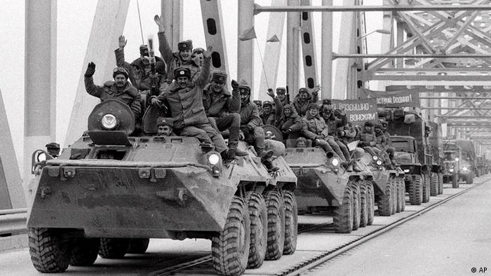 Afghanistan Rückzug Abzug der Sowjet-Truppen
