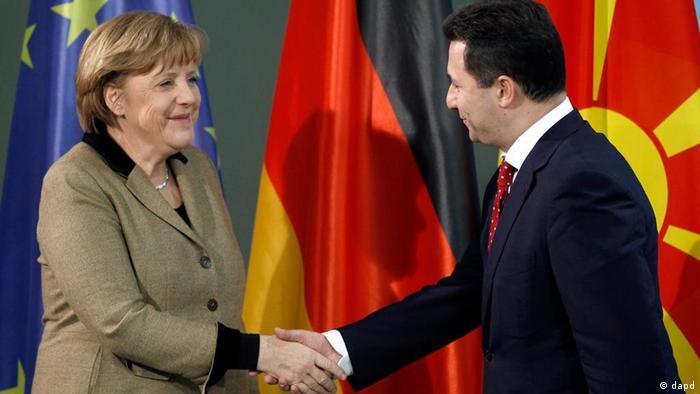 Angela Merkel und Nikola Gruevski PK in Berlin