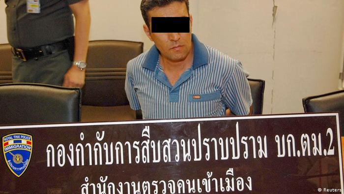 تصویری از محمد خزایی، بانکوک، محاکمه به اتهام تملک و حمل مواد منفجره