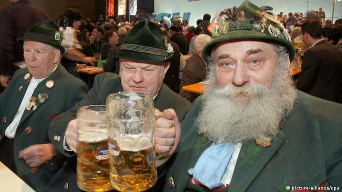 Bayern in Tracht (Foto:dpa)