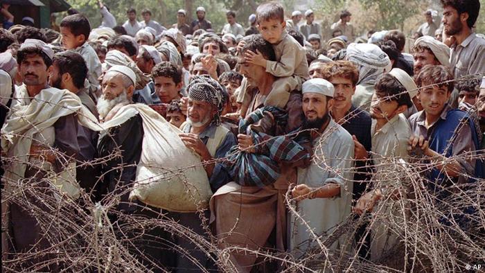 Afghanistan Flüchtlinge an der Grenze zu Pakistan
