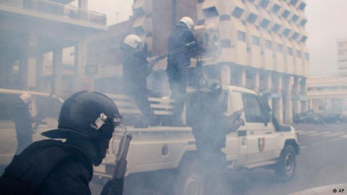 Proteste gegen die Regierung in Dakar, Senegal
