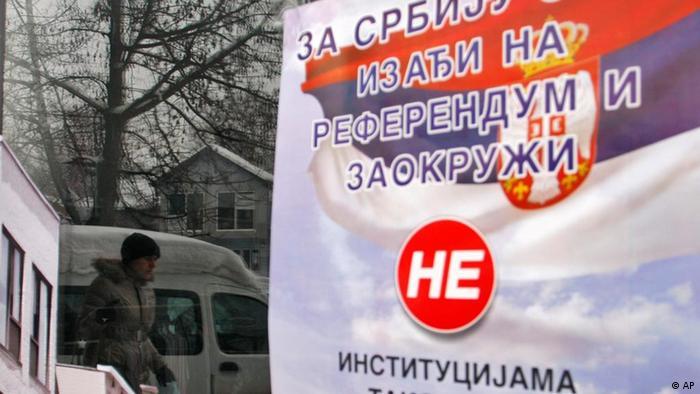 Kosovo Referendum der serbischen Bevölkerung