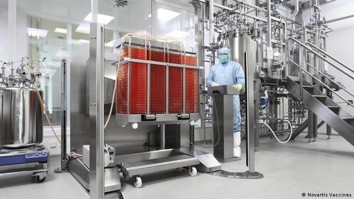 Vaccine production facility