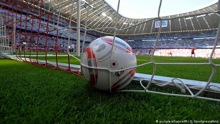 Deutschland Fußball Symbolbild Tor