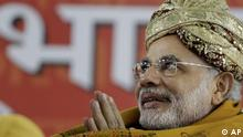 Narendra Modi Indien Ministerpräsident Gujarat