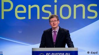 Belgien EU-Sozialkommissar Laszlo Andor EU-Kommission will höheres Rentenalter