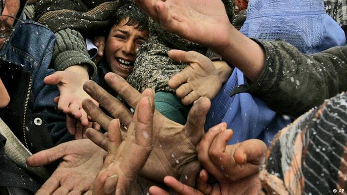 Afghanistan Kabul Flüchtlingscamp