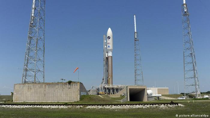 Ракета Атлас-5 с российскими двигателями на старте