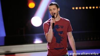 Germany's Eurovision hopeful Roman Lob will hoping for as many 12 points as possible