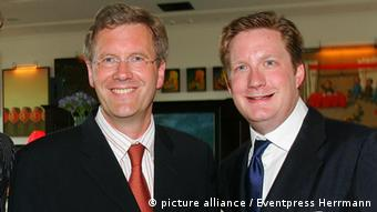 Christian Wulff (li) und David Groenewold (Foto: picture alliance / Eventpress Herrmann)