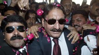 Pakistan's Supreme Court's Chief Justice Iftikhar Mohammed Chaudhry