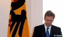 کریستیان وولف در ماه فوریه از سمت خود استعفا داد