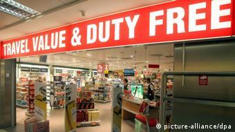 Duty Free в берлинском аэропорту Шёнефельд