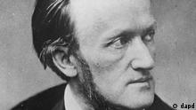 FILE - A 19th century photograph of German composer Richard Wagner. Wolfgang Wagner, the grandson of composer Richard Wagner and the leader of the Bayreuth opera festival for more than half a century, died Sunday March 21, 2010, the festival said. He was 90. (ddp images/AP Photo/Trinquart, file) ** B/W ONLY **