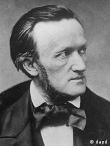 A 19th century photograph of German composer Richard Wagner. Wolfgang Wagner, the grandson of composer Richard Wagner and the leader of the Bayreuth opera festival for more than half a century, died Sunday March 21, 2010, the festival said. He was 90. (ddp images/AP Photo/Trinquart, file) ** B/W ONLY **