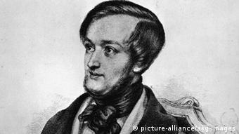 Portrait Richard Wagner 1842