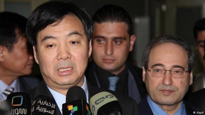 جای جون، معاون وزیر خارجه چین