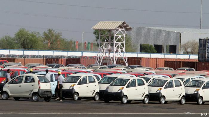 Tata Nano Werk in Indien