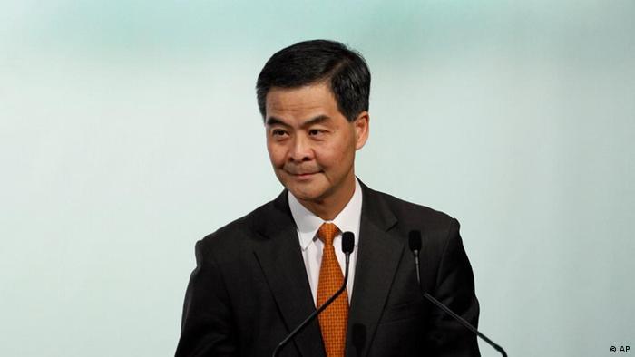 Hongkongs Gouverneurskandidat Leung Chun-ying