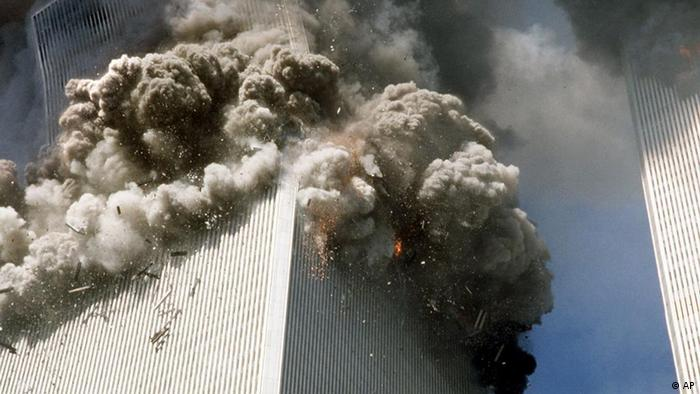 Anschlag auf World Trade Center 2001 (Foto: AP)
