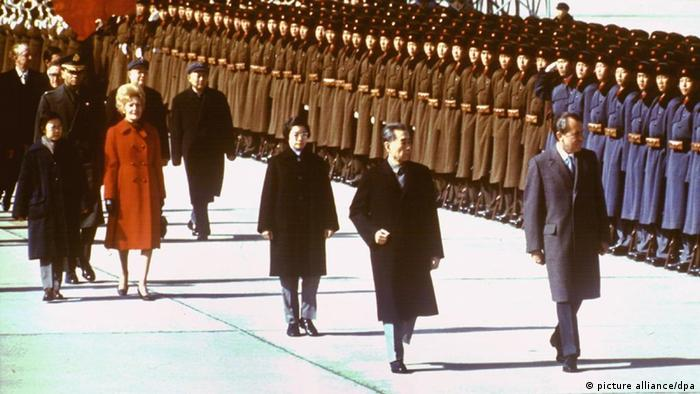 Staatsbesuch Richard Nixon in China 1972 (picture alliance/dpa)
