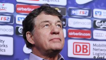 Berlins neuer Trainer Otto Rehhagel