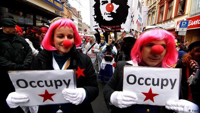 Desfile de carnaval en Colonia