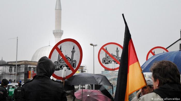 Symbolbild Islamophobie in Deutschland