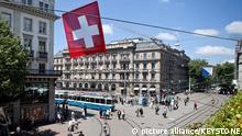 Schweiz Paradeplatz Zürich