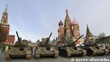 Russland Militärparade Symbolbild Ausgaben Militärhaushalt
