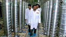 Atomanlage in Nathans Fordo Iran