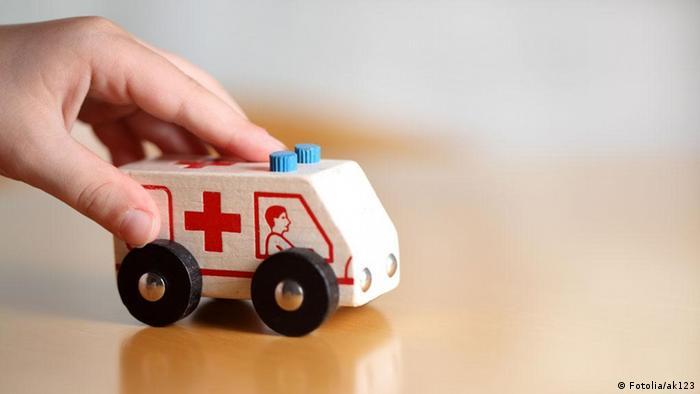 Brinquedo de ambulância