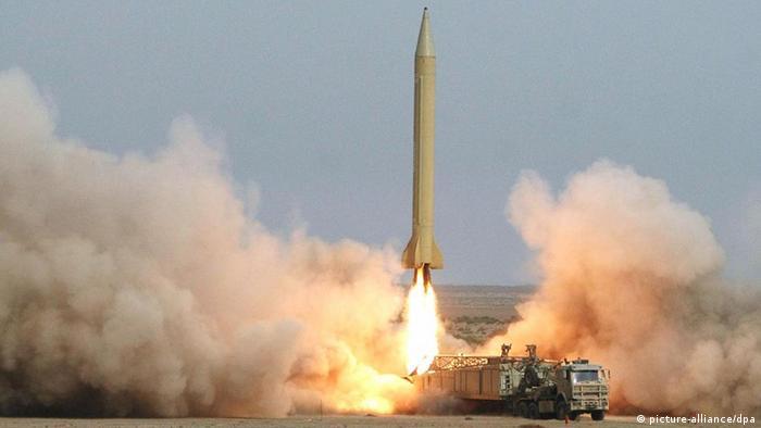 Iran Mittelstreckenrakete Shahab-3