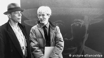 Bildergalerie Andy Warhol mit Joseph Beuys