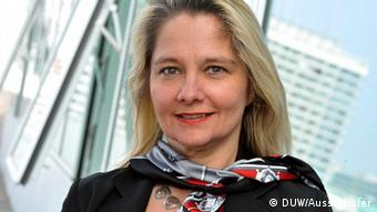 Professor Ada Pellert, Präsidentin der Deutschen Universität für Weiterbildung (DUW) in Berlin (Foto: DW)