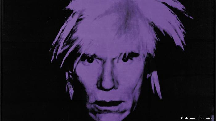 Andy Warhol autoportret