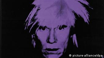 An undated handout picture provided on May 13, 2010 by Sotheby's of the 1986 Andy Warhol 'Self Portrait' which sold for 32.6 million USD at an auction at Sotheby's in New York, New York on May 12, 2010, Copyright: picture-alliance/dpa