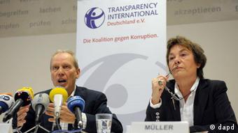Edda Müller dhe Jochen Bäumel