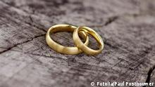 Eheringe Symbolbild Ehe