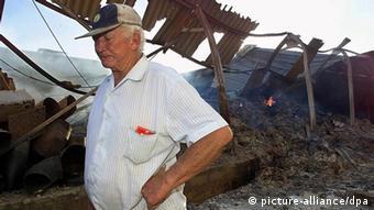 A white Zimbabwean farmer