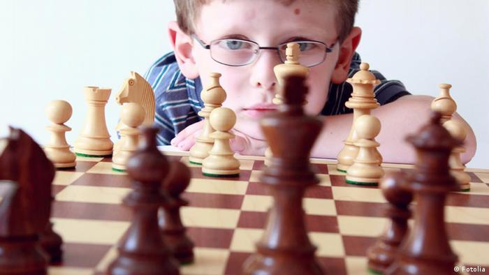 Symbolbild Gedächtnis Merken Gedächtnistraining Schach (Fotolia)