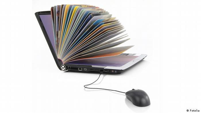 Bildung Online-Library Bücherei Wissen Internet
