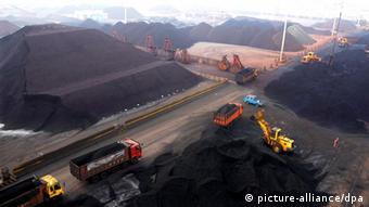 China Kohle Lianyungang Hafen Import Importe