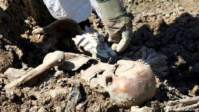 Masovna grobnica u blizini Srebrenice
