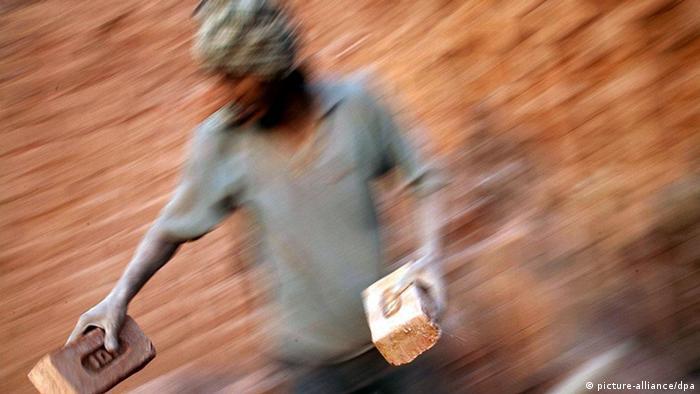 Symbolbild Moderne Sklaverei Menschenhandel Indien