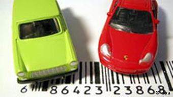 Модели автомобилей с надписью на лейблах Изготовлено в Китае